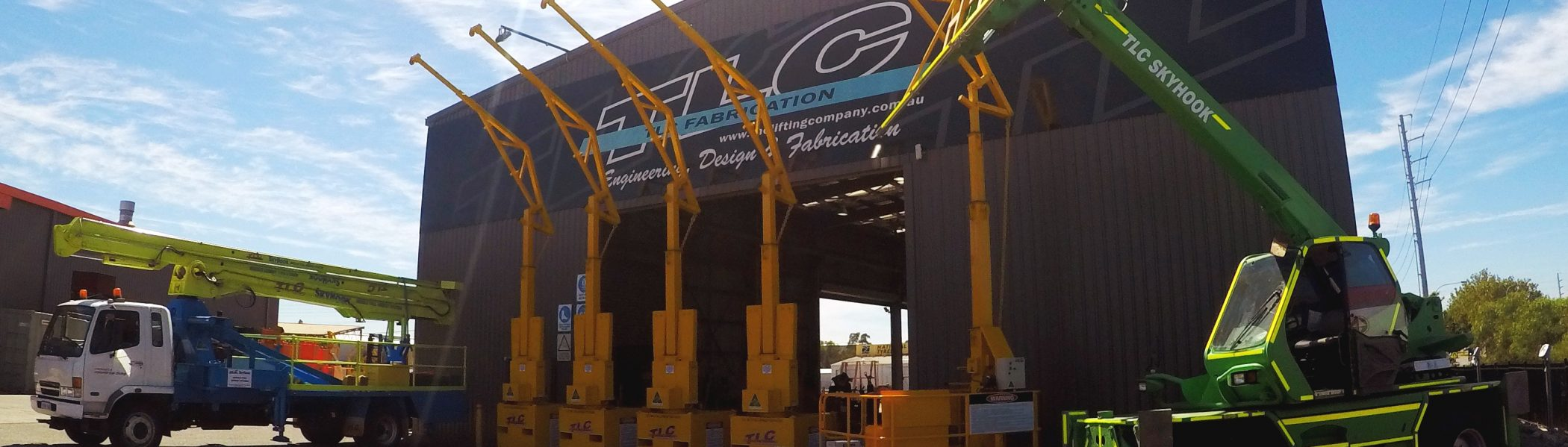 SkyHook-Range | TLC Skyhook | Lifting Company in Perth Western Australia