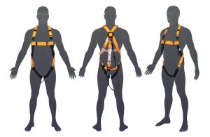 H105 LINQ Basic Full Body Harness with Lanyard | TLC Skyhook | Lifting Company in Perth Western Australia
