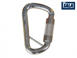 Stainless Steel Triple Action Karabiner w/ Captive Pin 1